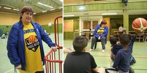 Monica Sandström har varit baskettränare i 48 år. – Det är ju helt otroligt, säger hon.