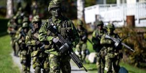 Försvaret har blivit en het fråga i Sollefteå igen.