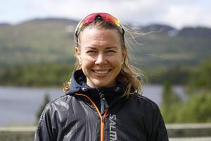 Emma Wikén sprang St Olavsloppet som liten – nu har hon för andra året i rad snörat på sig löparskorna för att springa loppet.