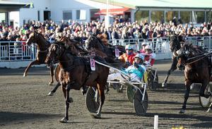 Trotting Mastersfinalen i fjol drog upp den totala publiksiffran på Östersundstravet.