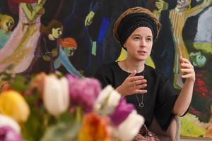 Amanda Lind (MP), kultur- och demokratiminister. Bild: Jonas Ekströmer/TT