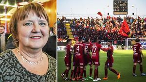 Kommunalrådet AnnSofie Andersson var inte överens med kommunen om att stoppa sponsringen av ÖFK. Foto: Ingmar Reslegård/Stefan Nolervik