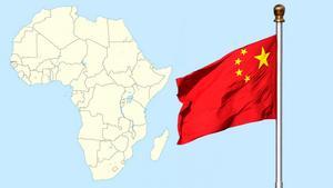 Kinesiska investeringar är, och kommer att vara, stora i Afrika. Grafik: LT