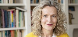 Åsa Wikforss, professor i teoretisk filosofi, väljs in på stol nummer 7 i Svenska Akademien. Kanske är det slutpunkten för akademiens kris. Bild: Henrik Montgomery