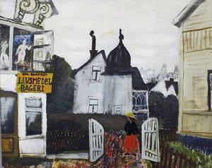 I Kramfors visades delar av kommunens rika konstsamling.