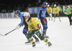 Misha Sveshnikov och Ljusdal hade problem att komma loss i första halvlek mot Stabaek.