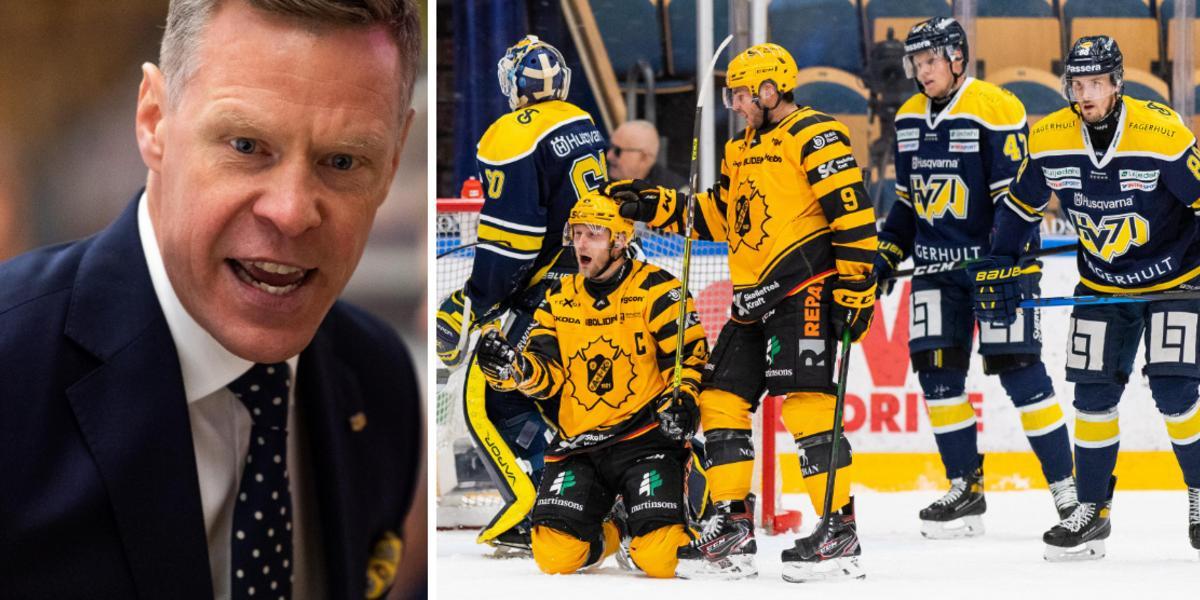 """Sandström: """"Vad är det som inte står rätt till i HV71""""?"""