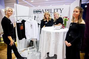 Ability UF driver de här fyra eleverna. Från vänster: Julia Nevalainen, Elin Eliasson, Alva Ångman och Matilda Karlsson.