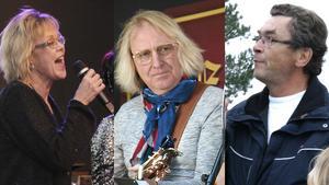 Lena Lundgren, Mikael Lindström och Anders Löfgren har alla olika minnen av G:et. Nu gör de en föreställning om honom under Kulturveckan i Nynäshamn.
