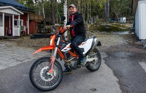 Till sommaren planerar Jonas att avverka några etapper av transeuropean trail på motorcykeln.