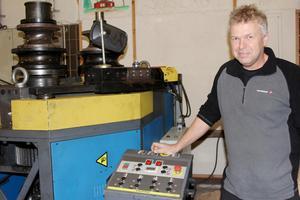 Lars Eriksson, vd på LE industriservice AB, ett företag inom tillverknings- och underhållsbranschen. Foto: Arkiv