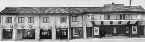 1978. Bakom den här fasaden, där Odéon låg, dolde sig en gårdsmiljö. Foto: Gunhild Malmberg/VLT:s arkiv