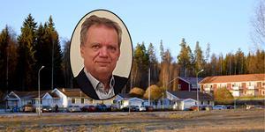Pär Rahmström säger att det måste finnas bättre platser för ett demensboende än den som Gagnefs kommunfullmäktige klubbat.