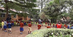 En förskola i Bukoba, Tanzania.