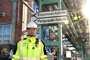 Tillverkningen av mikrosfärer i Stockvik är den enda av sitt slag i västvärlden.