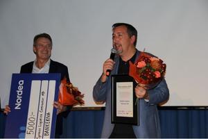 Priset till årets bubblare i kategorin små och medelstora företag blev Zymbios Logistic Contractor. Priset togs emot av Patrick Hansson och Jens Berglund.
