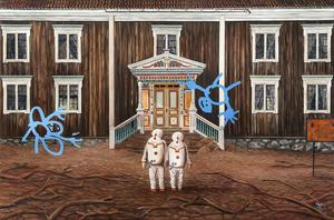 Målning av Erik Olof Wiklund.