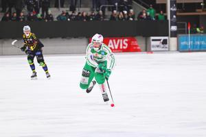 Simon Jansson räddade en poäng för VSK mot Sandviken.