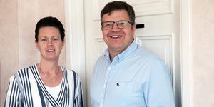 Jennie Forsblom (KD) och Hans Jonsson (C).