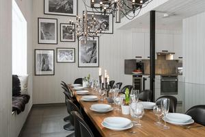 10 miljoner får man betala för Frostslingan 11 i Lindvallen. Foto: Fastighetsbyrån Sälen