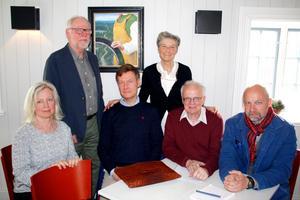 Styrelsen i den nystartade föreningen Zorns vänner. Foto: Kjell Hansson-Talu