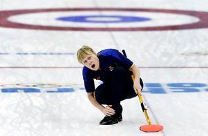 Maria Prytz får det fina uppdraget att ta över efter Peja Lindholm som förbundskapten i svensk curling. Foto: TT