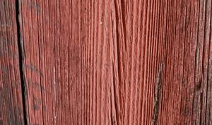 Slamfärg åldras vackert och är lätt att måla om.