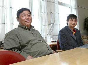 Snart tillbaka. Direktör Zou Changyi hoppas snart vara tillbaka i Ludvika för att etablera sitt växthus men man behöver en bättre plats än den som först föreslogs i Nyhammar.