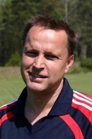 Anders Broberg är lagledare i Rö IK. Foto: Rö IK.