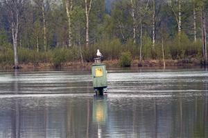 Vattennivån har sjunkit minimalt det senaste dygnet.