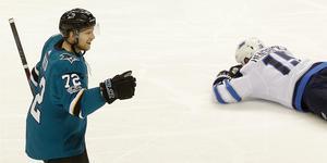Det blev tillslut ett nytt kontrakt i San José Sharks för Tim Heeds del. Bild: AP Photo/Jeff Chiu