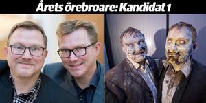 Erik och Gunnar Haneskog - nominerade till Årets örebroare.