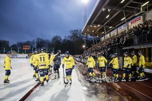 Derbyna mot Hammarby tillhör säsongens höjdpunkter för Tellus. FOTO: Christine Olsson/TT