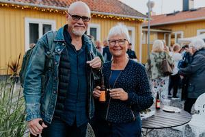 Fredrik Granath och Karin Berggren.