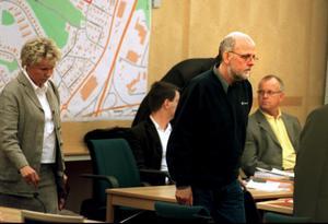 Bergwall i Svea hovrätt när han beviljades resning i målet om mordet på Yenon Levi i Dalarna 1988./Arkivbild