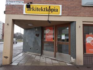 Här öppnar snart en ny mataffär.