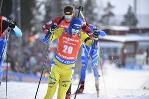 Sebastian Samuelsson blev bäste svensk. Bild: Jessica Gow/TT.