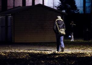 Kvinnor måste kunna våga vara ute. Foto: Gorm Kallestad/TT