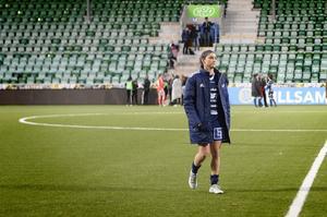 Anisa Guajardo efter 3–1 i hemmamötet mot Umeå IK när Elitettans sista omgång spelades.