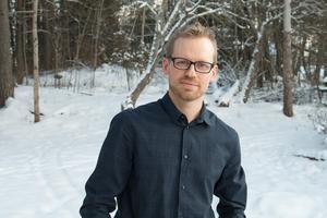 Erik Hamrin (M), gruppledare för Moderaterna i Sala.