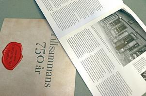 I jubileumsskriften Tillsammans 750 år, det är 375 år sedan som Nora och Lindesberg fick sina stadsprivilegier, så berättas det om dåtid och nutid i Nora och Lindesberg. Göran Karlsson och Rolf Karlsson har sammanställt skriften.