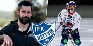 Pär Törnberg är fostrad i Edsbyn, men har även spelat med Villa Lidköping och Bollnäs i elitserien. Han har också gjort en säsong i Ljusdal i allsvenskan. Bild: Leo Hägglund / Rikard Bäckman