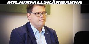 Kommunalråd Anders Wigelsbo utfrågas av SA:s reporter Terese Ahlin om hur kommunen egentligen använder skattemedel.