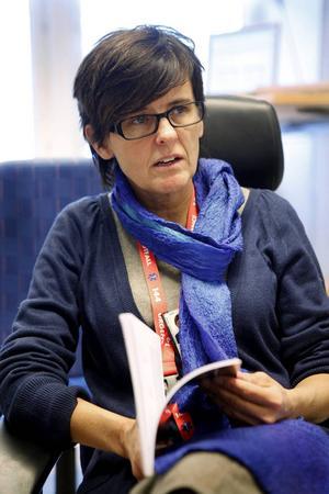 Agneta Sandström är neuropsykolog på region Jämtland/Härjedalen.