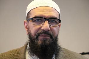 Abo Raad är imam i Gävle moské. Fotograf: Kjell Vowles
