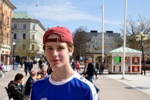 Manne Sjögren Svedberg, 15, studerande, Njurunda: