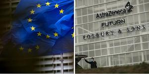EU:s läkemedelsmyndighet EMA meddelade på fredagen att man godkänner Astra Zenecas vaccin mot covid-19. Foto: Virginia Mayo/AP/TT,  Francisco Seco/AP/TT
