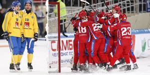 Bilder från VM-finalen tidigare i år när Ryssland besegrade Sverige. Då spelades VM i månadsskiftet januari-februari. Bild: Rikard Bäckman/TT