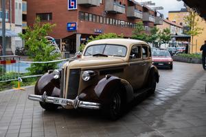 Mullrande motorer på Sandvikens gator.