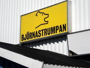 Nya Coop i Björna ligger på den plats där Björnastrumpan haft sin verksamhet.